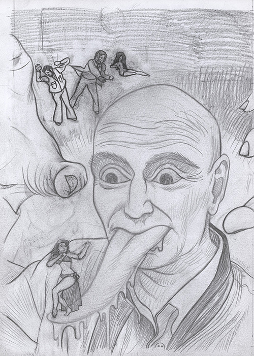 crayonné cannibale peluche # 5