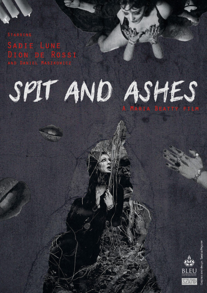 affiche noire spit and ashes