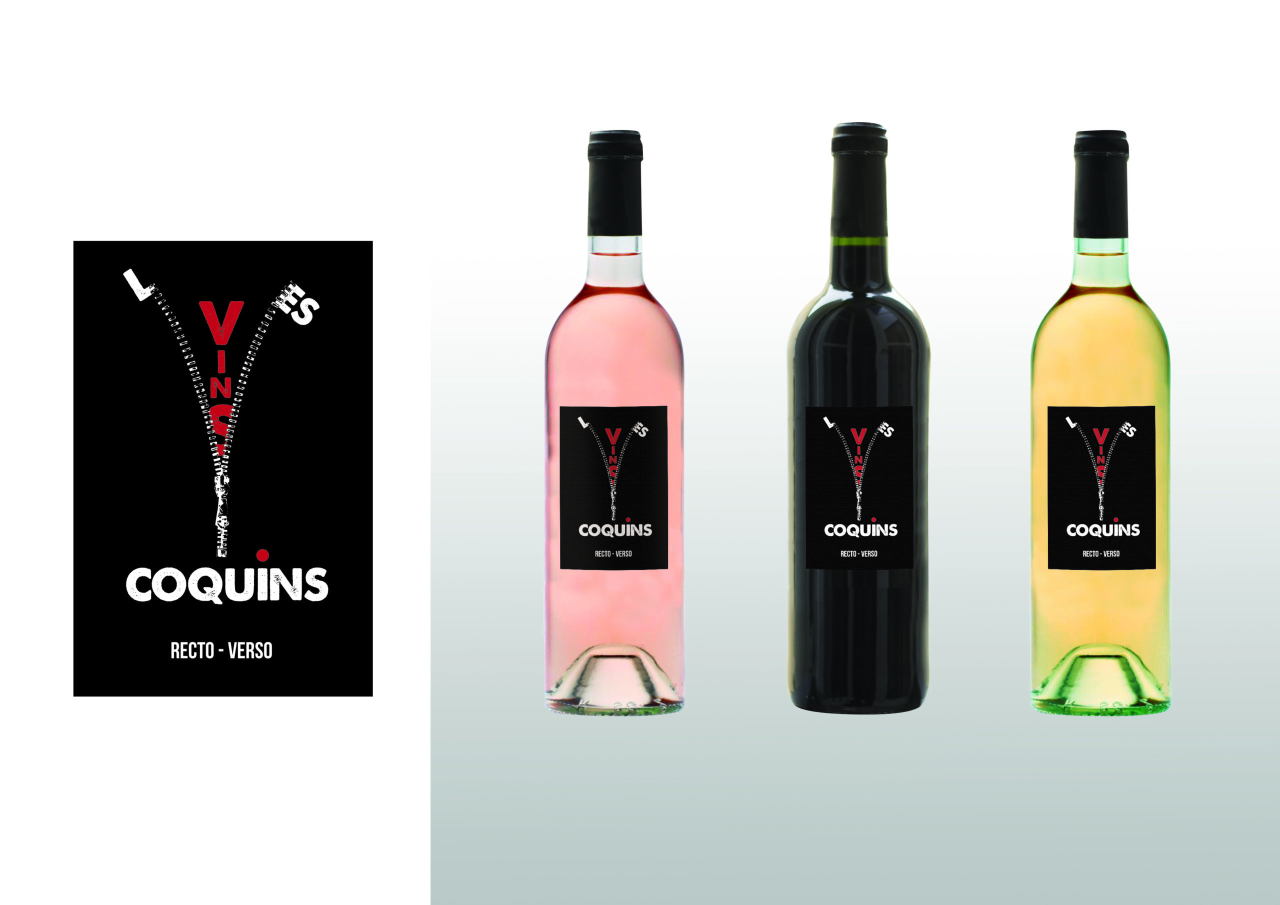 première étiquette les vins coquins